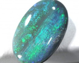 1.40  CTS SEMI BLACK OPAL POLISHED STONE  TBO-451