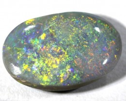 BLACK OPAL POLISHED STONE  2.12  CTS  TBO-456