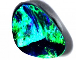 QUALITY GEM BLACK OPAL POLISHED STONE  0.55  CTS  TBO-459