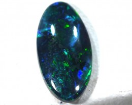 N1 QUALITY BLACK OPAL POLISHED STONE  0.52  CTS  TBO-471