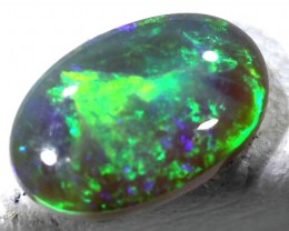BLACK OPAL POLISHED STONE  0.58  CTS  TBO-472