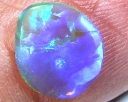 CRYSTAL OPAL POLISHED STONE  0.60  CTS  TBO-476