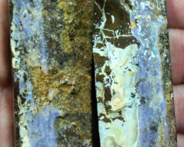 3.65 OUNCES  BOULDER OPAL PAIRS ROUGH FOR CUTTING