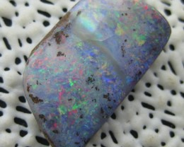 COLOURMINE OPALS>10.00.cts DRILLED LOVELY BOULDER OPAL