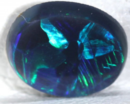 QUALITY BLACK OPAL POLISHED STONE 1.10   CTS  TBO-543