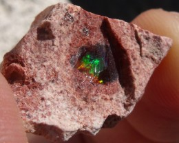 22.64 Cts. Rough mexican fire opal Specimen