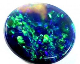 N1 BLACK OPAL POLISHED STONE  0.40  CTS  TBO-599