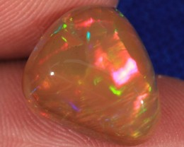 7.54CT BEAUTIFUL DARK BASE WELO OPAL WITH SOFT FIRE!!