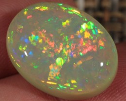 12.19CT COLLECTORS ETHIOPIAN WELO OPAL WITH 5/5 CHAFF FIRE!