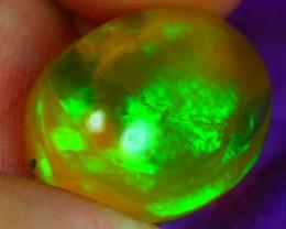 8.61Ct Honey Tone Broadflash Ethiopian Welo Opal