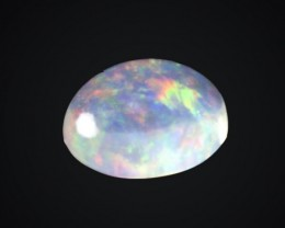 .7ct Bright Rainbow Mexican Fire Opal (MO54)
