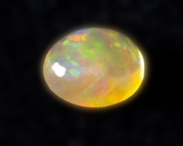 .9ct Rainbow Orange Mexican Fire Opal (MO83)