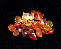 20ct Faceted Mexican Jelly Opal Parcel (MOL127)