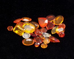 20ct Faceted Mexican Jelly Opal Parcel (MOL129)