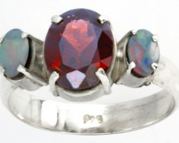 Opal Doublet & Gemstone Rings