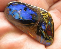 COLOURMINE OPALS>62.60cts WOW! GREAT COLOUR AND PATTERN OPAL