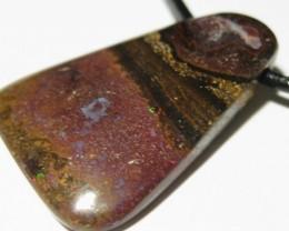 OpalWeb -Opal Miners Boulder- 36.20Cts