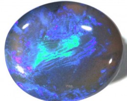 QUALITY BLACK OPAL POLISHED STONE 7.55   CTS  TBO-713