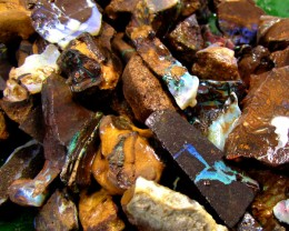 179 Grams Boulder Opal Rough Yowah-Koroit Parcel PL 853