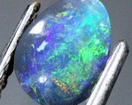BLACK OPAL POLISHED STONE 0.70   CTS  TBO-734
