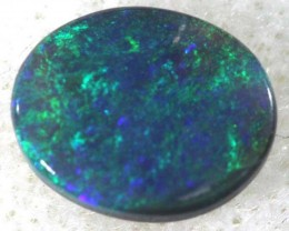 BLACK OPAL POLISHED STONE  0.65  CTS  TBO-748