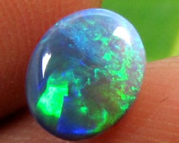.45 CTS BLACK OPAL SMALL GEM 6X5 MM    PL 864