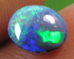 .65 CTS BLACK OPAL BRIGHT GREEN    PL 868