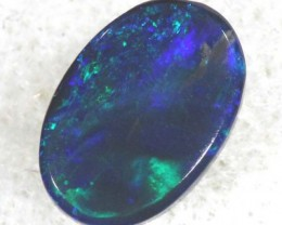 BLACK OPAL POLISHED STONE  0.85  CTS  TBO-761