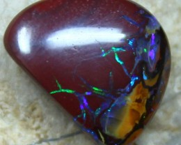 6.60 CTS YOWAH OPAL POLISHED NATURAL PATTERN STONE ELECTRIC C3362