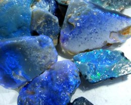 BLACK OPAL ROUGH  L. RIDGE  325  CTS  DT-1734