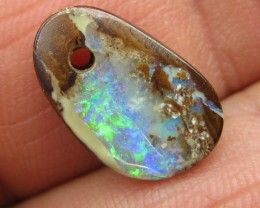 COLOURMINE OPALS>5.80.cts $1nr DRILLED LOVELY BOULDER OPAL