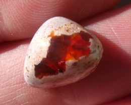 8.00 Ct. Mexican cantera fire opal Cabochon