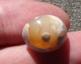 11.33 Ct. Mexican cantera fire opal Cabochon