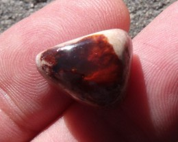 10.20 Ct. Mexican cantera fire opal Cabochon