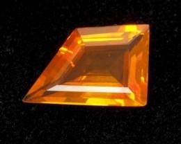 3.2ct Orange Freeform Mexican Fire Opal (MO149)