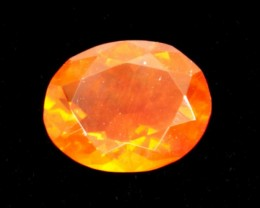 1ct Orange Oval Mexican Fire Opal (MO153)