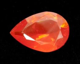 4.1ct Orange Pear Mexican Fire Opal (MO154)
