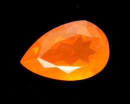 1.5ct Orange Pear Mexican Fire Opal (MO157)