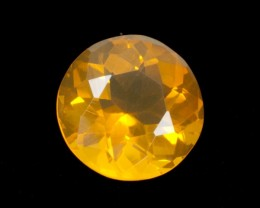4.2ct Light-Orange Round Mexican Fire Opal (MO161)