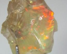 24ct amazing crystal wello Ethiopian multycolour Opal, nr1
