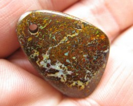 COLOURMINE OPALS>30.30.cts DRILLED BOULDER MATRIX OPAL