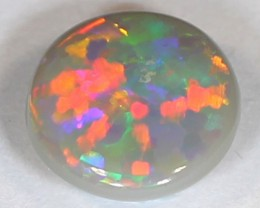 BRIGHT FLAGSTONE RED PATTERN Black Opal from LR - 1.22 CTS