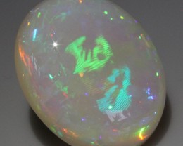 Huge GEM WELO Cabochon Holographic 26,90 cts ! Must see !!!