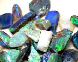 BLACK OPAL RUBS L. RIDGE  155  CTS  DT-2021