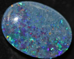 6.3 CTS Multi color Opal triplet 18x13mm   QOM 1147