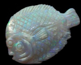 Marine Animal Opal Carvings