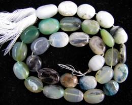 140 Cts Strand peru Opal beads    QOM 1218