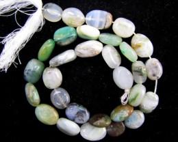 140 Cts Strand peru Opal beads    QOM 1219