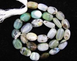 145 Cts Strand peru Opal beads    QOM 1220