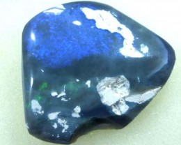 BLACK OPAL POLISHED  SPECIMEN L. RIDGE 24.1  CTS  DT-1803